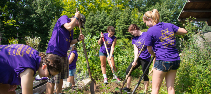 Civic Engagement at Nazareth Mini-Series: In-Class Service Learning