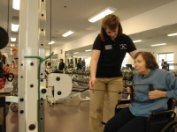 #ServiceSaturdays – On-Campus Physical Therapy Clinics