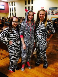Last years theme for Casino Night was Pajama Party!
