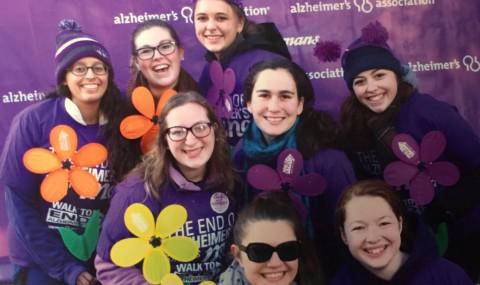 #ServiceSaturdays – Walk to END Alzheimer's