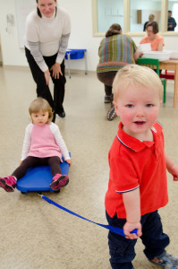 Occupational Therapy for Toddlers in Carroll Hall with Linda Shriber