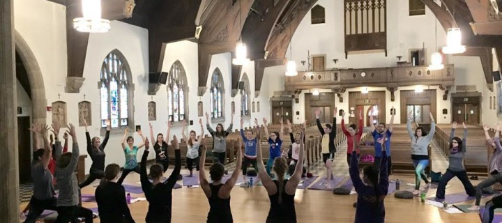#ServiceSaturdays: Namaste on Campus – Yoga Service at Nazareth College