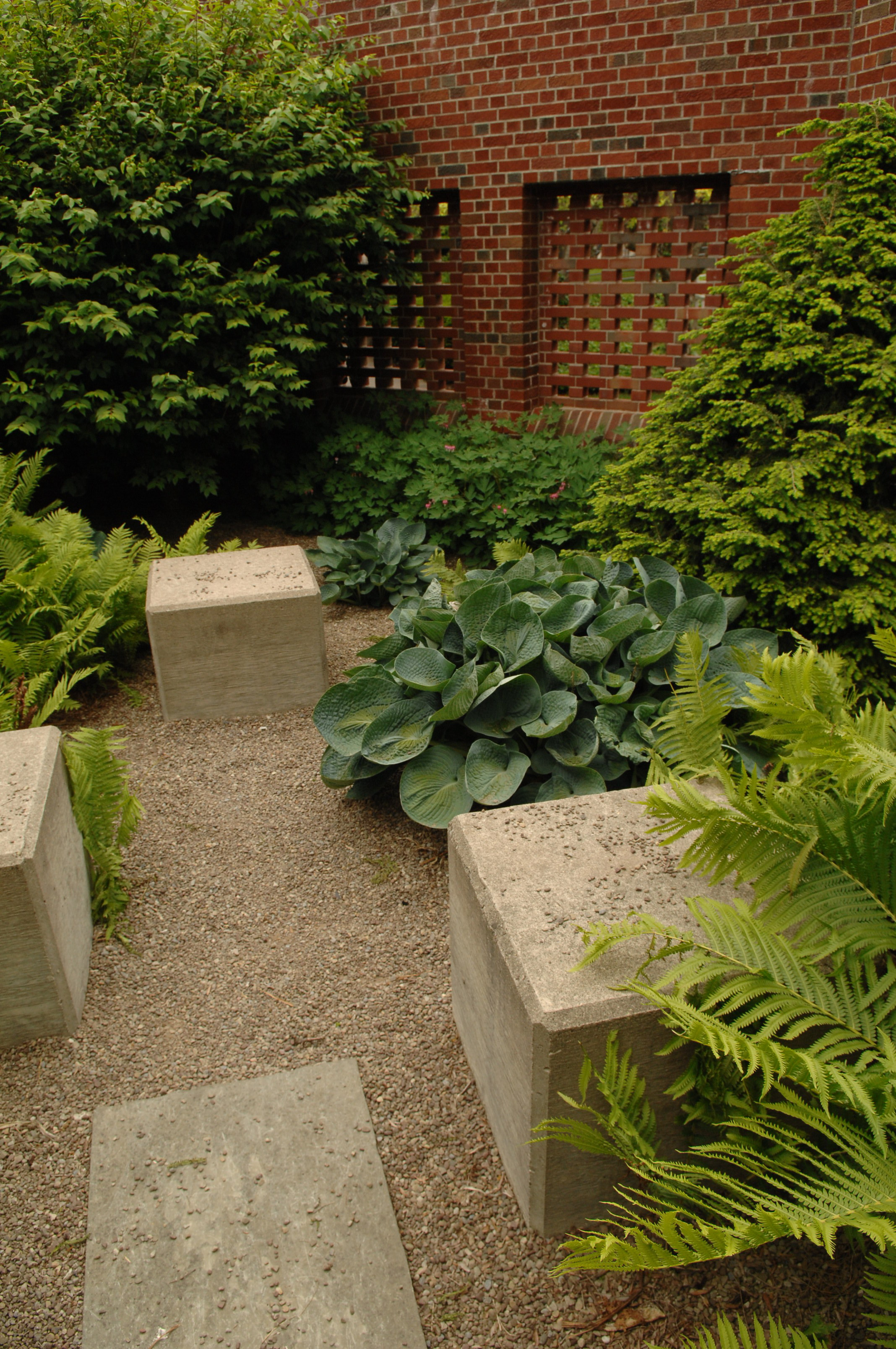 Shults Center Meditation Garden