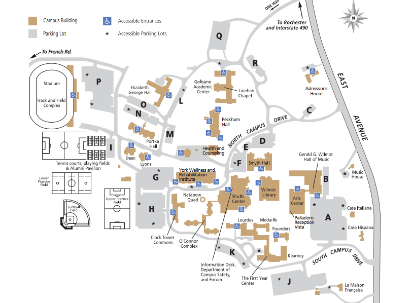 Nazareth Campus Map.Finding Your Perfect Match College Edition Part 2 My Life As A Flyer